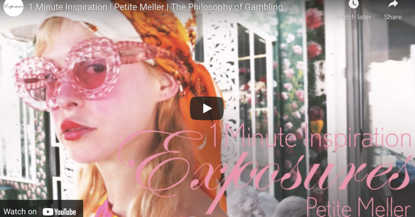 1 Minute Inspiration With  Petite Meller